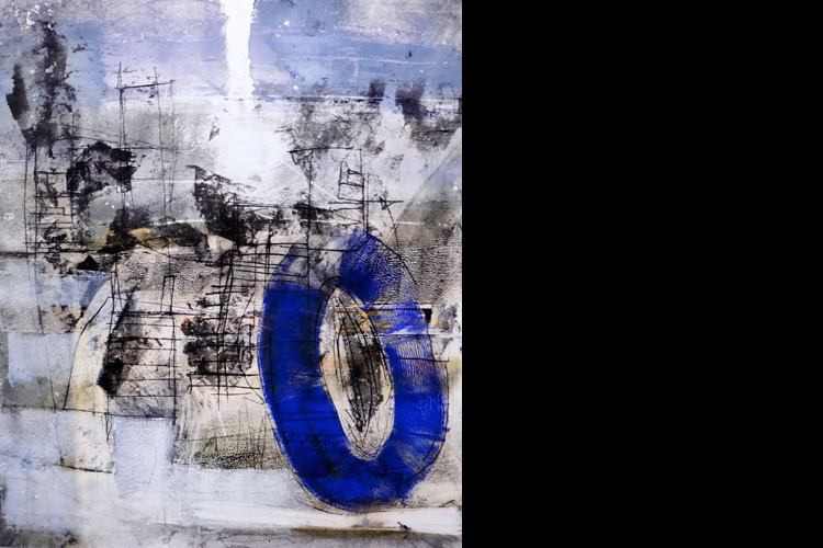 'Blue-Loop', Private Collection