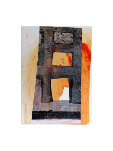 'Art, Ideas, Beliefs #23', Collage, 15.5 x 11 cm, Private Collection