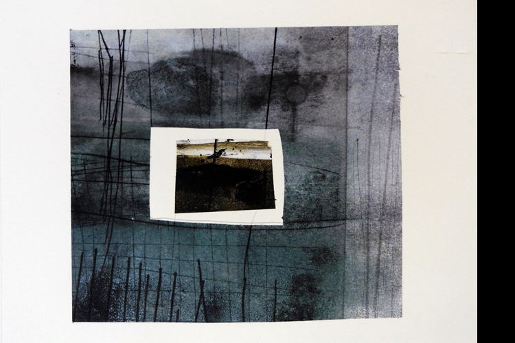 'View of an Instant', Collage, 34 x 39 cm, £595