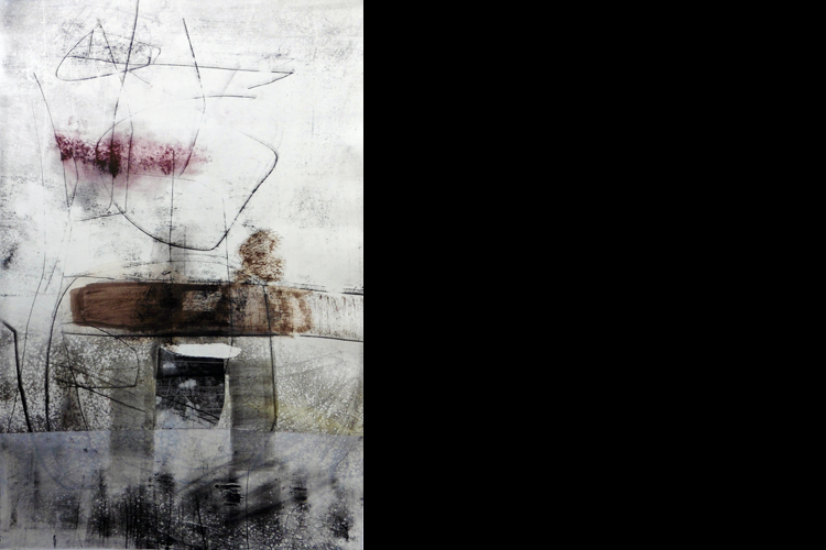 'An Idea Of Reality', Oil on Paper, 91 x 133 cm, £3000