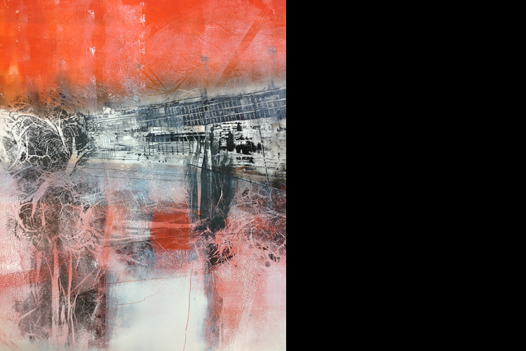 'Untitled', monoprint, 110 x 80 cm, £1,750 SOLD